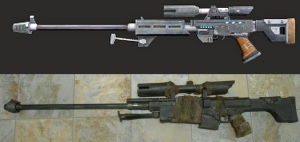 Sniper Rifle Left Side