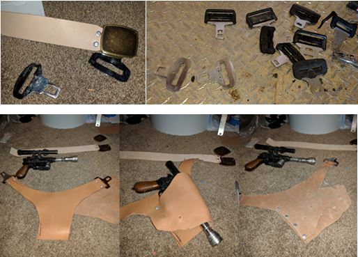 diy han solo holster mandalorian armour wip. Black Bedroom Furniture Sets. Home Design Ideas