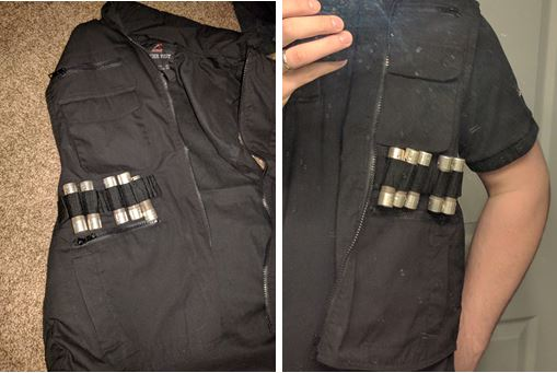 Vest with Charges