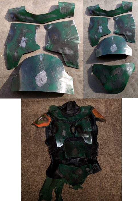 Weathered Armour