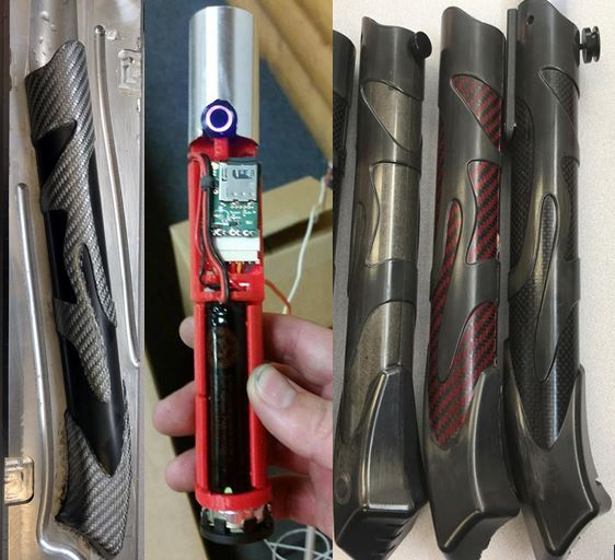 Carbon Fiber Lightsabers