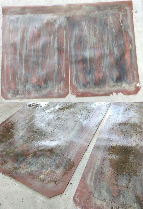 Leather Kama4 Weathering