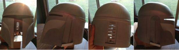 016 - 90% printlines removed helmet