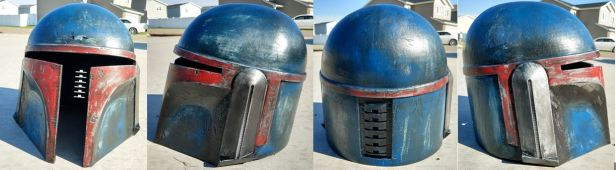 050 - weathered helmet