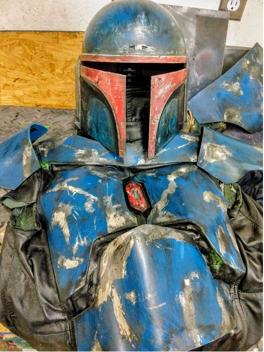 071 - Matching helmet and plates weathering