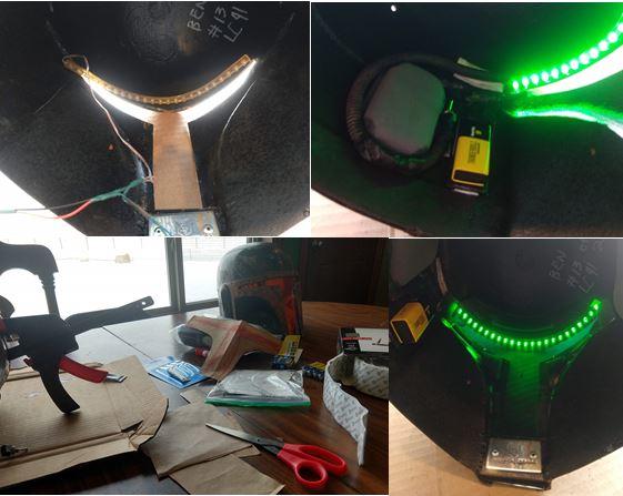 024 - installing HUDs and visor